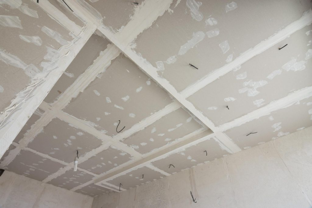 wiring on the ceilings